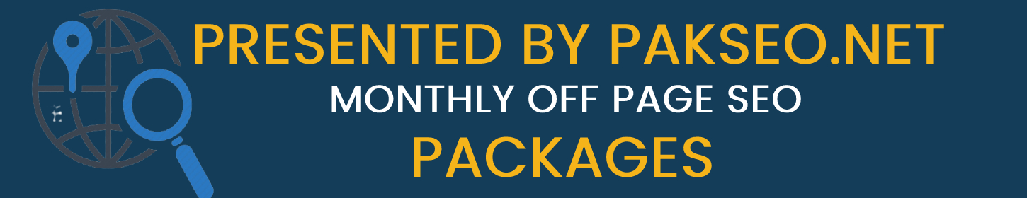 monthly off page seo packages